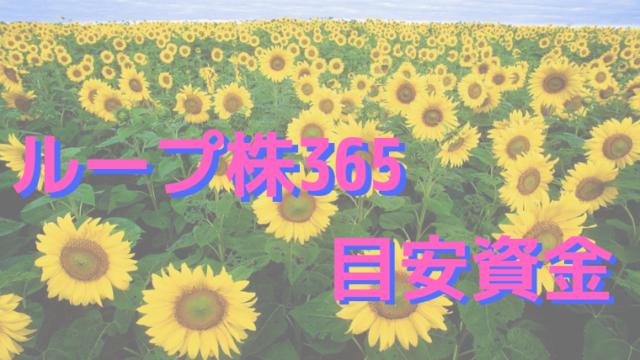 アイキャッチループ株目安